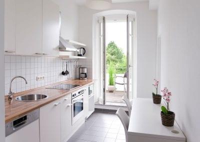 Gästewohnung A24 W3 Küche