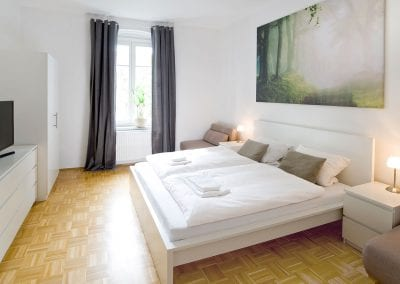 Gästewohnung A24 W3 Schlafen