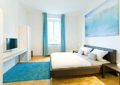 Gästewohnung A24 W2 Schlafen