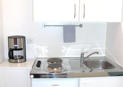 Gästewohnung B18 A1, A2 Kochen